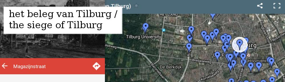 """""""Het beleg van Tilburg"""" (2010-2011) geeft een voorstelling van een Nederlandse stad onder militair beleg."""